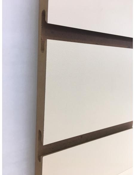 Slatwall board white colour 18MM