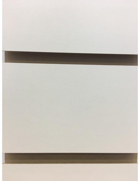 UK Slatwall board cream colour