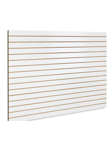 White slatwall