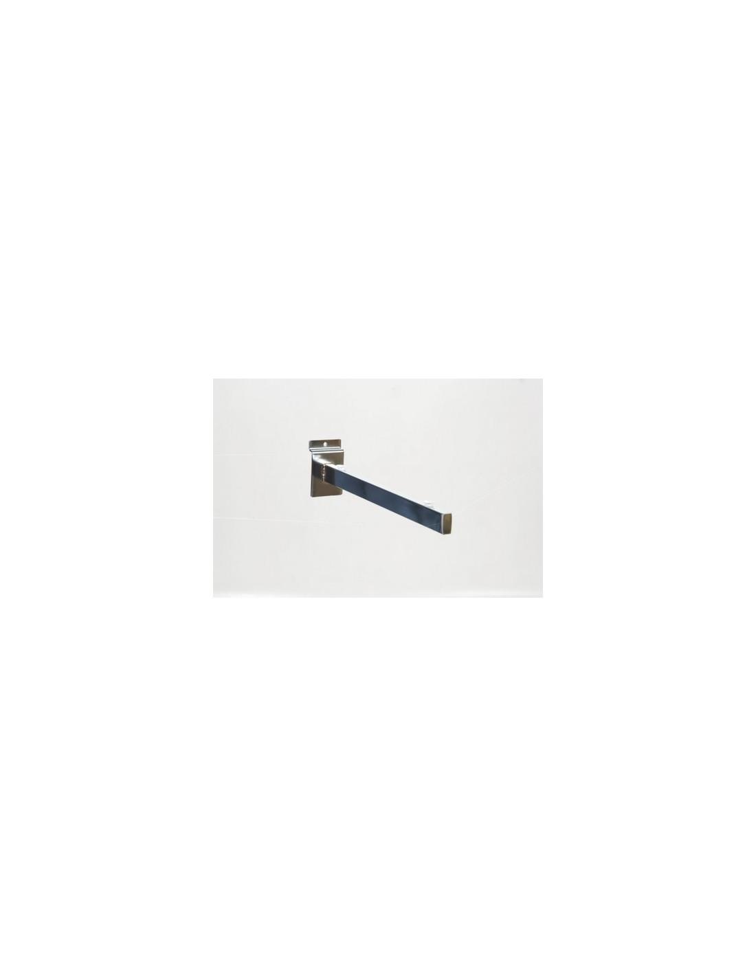 Heavy Duty Slatwall Brackets For Slatwall Glass Shelves