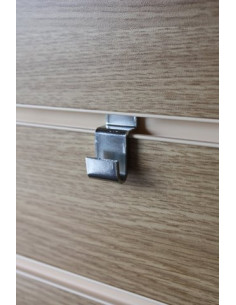 Picture Hook for Slatwall Shop Display