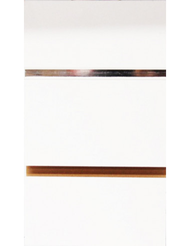 White Slatwall Board Panels with Free Inserts