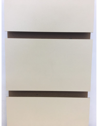 Slatwall board white colour