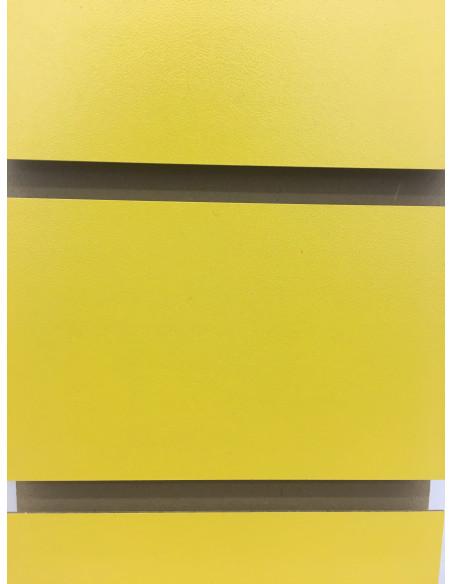 Slatwall yellow colour