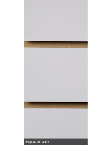 Slatwall board grey 8ft by 4ft UK stock