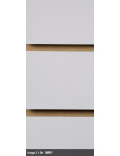 Slatwall board grey 8ft x 4ft UK stock