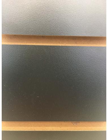 Slatwall board black 8ft by 4ft UK stock