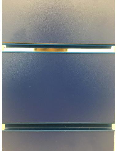Slatwall board blue 8ft by 4ft UK stock