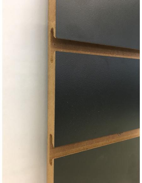 Slatwall board black 8ft by 4ft UK in stock